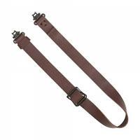 Погонный ремень для переноски оружия Allen Slide &amp Lock Leather Sling (с антабками). Материал - кожа. Цвет - коричневый. (8432)