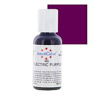 Краситель гелевый Americolor Электрический пурпуный (Electric purple)