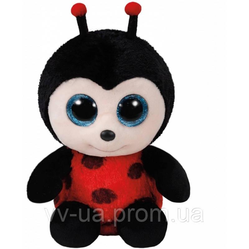 Мягкая игрушка TY Beanie Boos Божья коровка IZZY, 15 см (36850)