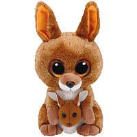 Мягкая игрушка TY Beanie Boos Кенгуру Kipper, 15 см (37226)