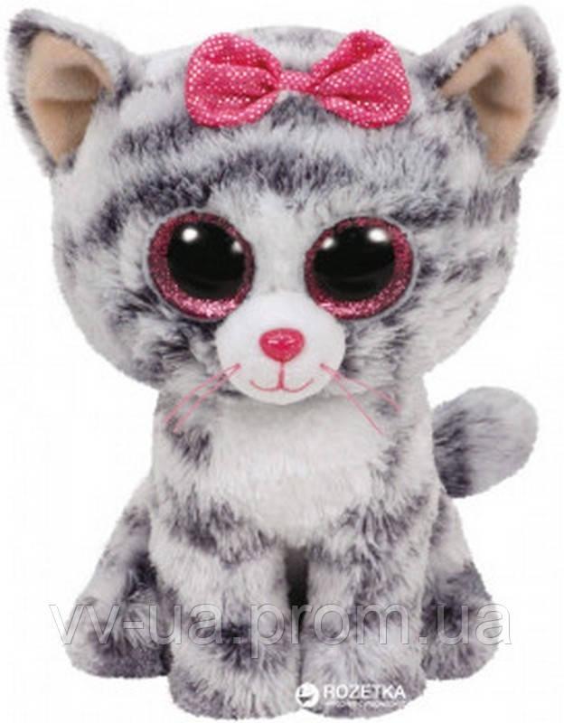 Мягкая игрушка TY Beanie Boos Котенок Kiki, 15 см (37190)