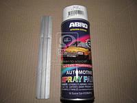 Краска белая Лада 473мл аэрозоль ABRO SP-201