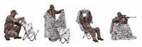 Засидка Ameristep Cover/ Predator Hunter 3D Chair&Cover sistem AP Snow (10155A)