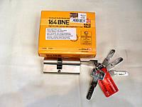 Цилиндр Kale 164 BNE с повышенной секретностью, с карточкой безопастности. 45 + 10 + 45 = 100 mm