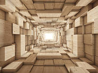 3D фотообои: Ближе к свету