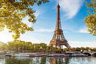 Фотообои Пароходы на Сене