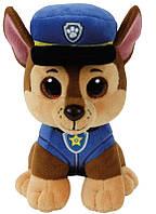 Мягкая игрушка TY Paw Patrol, Немецкая овчарка Гонщик, 15 см (41208)