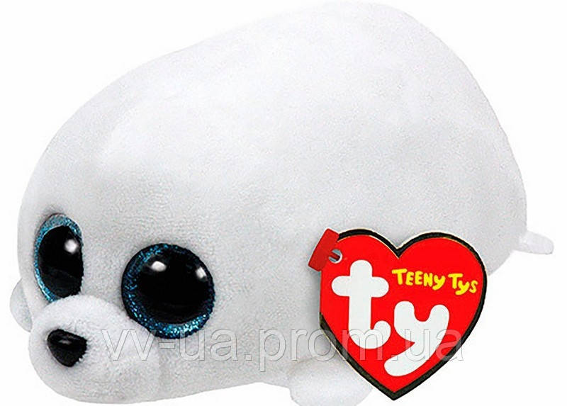 Мягкая игрушка TY Teeny Tys Тюлень SLIPPERY , 10 см (42136)