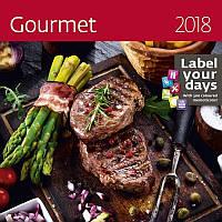 Календарь настенный Helma 2018 Gourmet 30x30