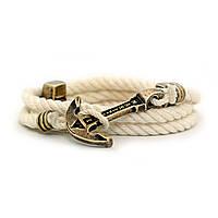 Браслет на руку с якорем Ivory Rope