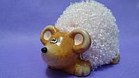 Копилка Мышка розовая