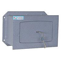 Встраиваемый сейф  ВШ-8. Вес:11 кг., Высота*Ширина*Глубина 200х290х150 мм.