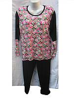 Пижама женская батал (ХБ,мультилок) Mody Турция от склада оптом 7 км Одесса