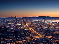 Фотообои Панорама вечернего города