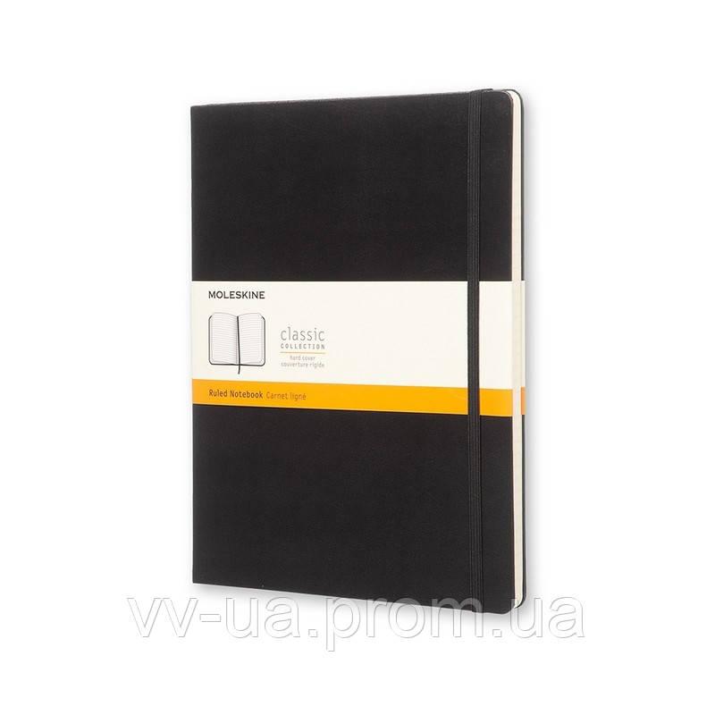 Книга записная Moleskine Classic большая, тверд.обл., черный, линия (QP090)