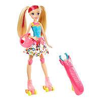Кукла Светящиеся ролики из м/ф Barbie: Виртуальный мир, Barbie (DTW17)