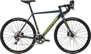 "Велосипед 28"" Cannondale CAADX Ultegra disc рама - 51 SLA серо-синий 2018"