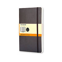 Книга записная Moleskine Classic средняя, мягк.обл., черный, линия (QP616)