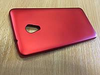 Красный силиконовый чехол для Meizu M5s