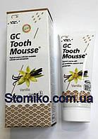 Tooth mousse Оригинал Ваниль США  (тусс мусс) - крем для реминерализации зубов, 1 тюбик 40г