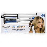 Стайлер для волос 2 в 1  Styler Wet 2 Dry Rotating Hair Iron