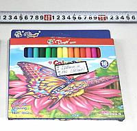 Фломастеры 18 цветов