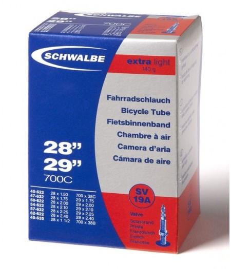 "Камера 29"" (40/62-584/635) SV 40мм Schwalbe SV19A EXTRA LIGHT"
