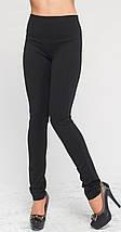 Джегинсы из итальянской ткани черные 40 зима, фото 3