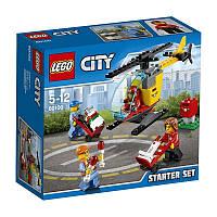 Конструктор LEGO City Aerport Набор для начинающих «Аэропорт» 60100