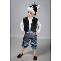 Карнавальный новогодний костюм Волк серый