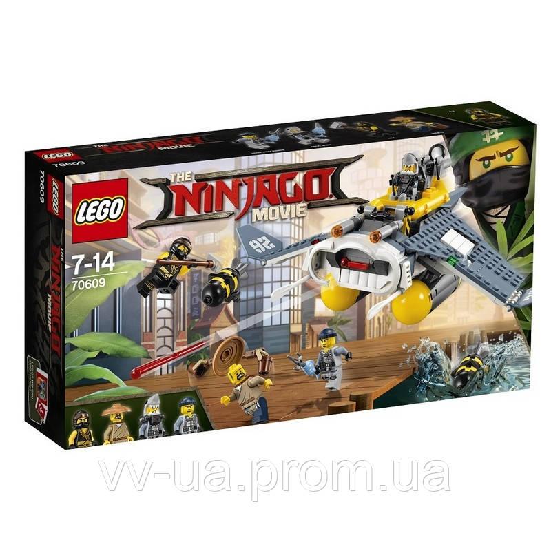 """Конструктор LEGO Ninjago Бомбардировщик """"Морской дьявол"""" 70609"""