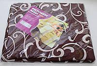 Постельное белье двухспальное коричневое