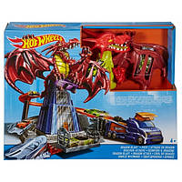 Набор игровой Hot Wheels Атака дракона