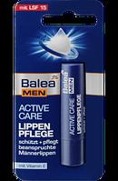 Бальзам для губ Balea MEN Lippenpflege Active Care для мужчин, 4,8 г.