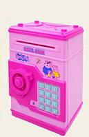 Розовая копилка сейф Свинка Пеппа Peppa Pig