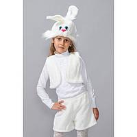 Новогодний карнавальный костюм Заяц белый