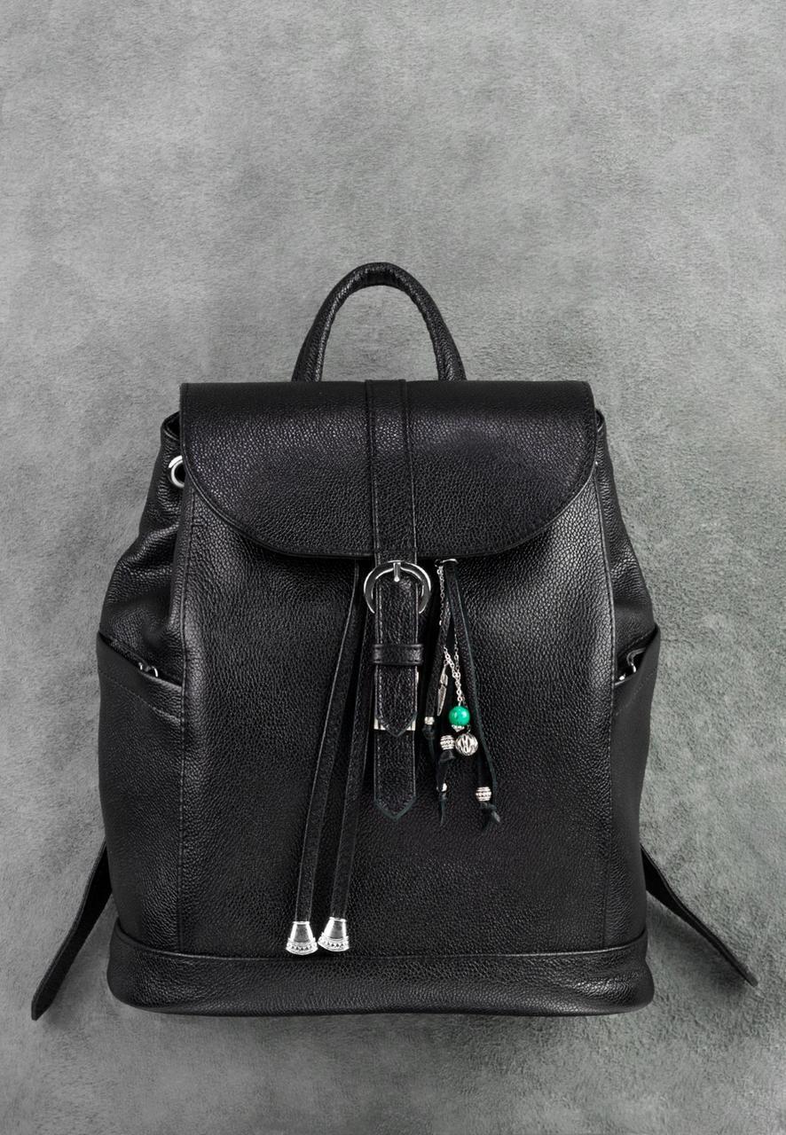 a7acd468773f Кожаный рюкзак Олсен оникс - Интернет магазин
