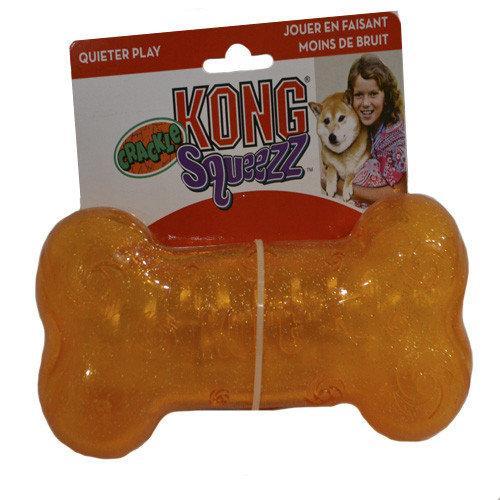 Игрушка Kong Crackle Bone кость для собак (23091)