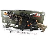 Игрушечный автомат Electric M4-Storm