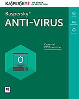 Kaspersky Anti-Virus 1 Desktop 1 year + 3 mon. Base Box (KL1171OUABS17)