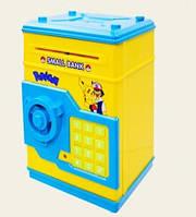 Желтая копилка сейф Покемон Pokemon, фото 1