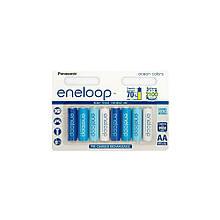 Аккумулятор Panasonic eneloop AA 1900 8шт mAh NI-MH Ocean Colors (BK-3MCCE/8SE)