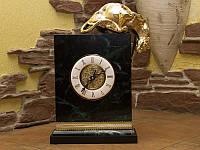 Часы Пантера золото натуральный камень