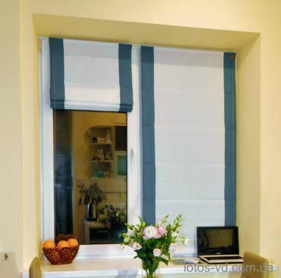 Римские шторы монтаж на окно