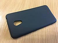 Черный матовый силиконовый чехол для Meizu M3s/M3/M3mini