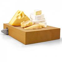 Разделочная доска и нож для сыра Nibbled Fred&Friends