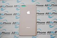 Задняя панель корпуса  Apple iPhone 8 Plus Золотая