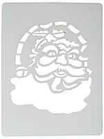 Трафарет Деда Мороза 43,5х28,5 см.