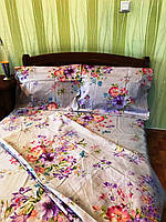 Двуспальный комплект постельного белья из полиэстера Нежность
