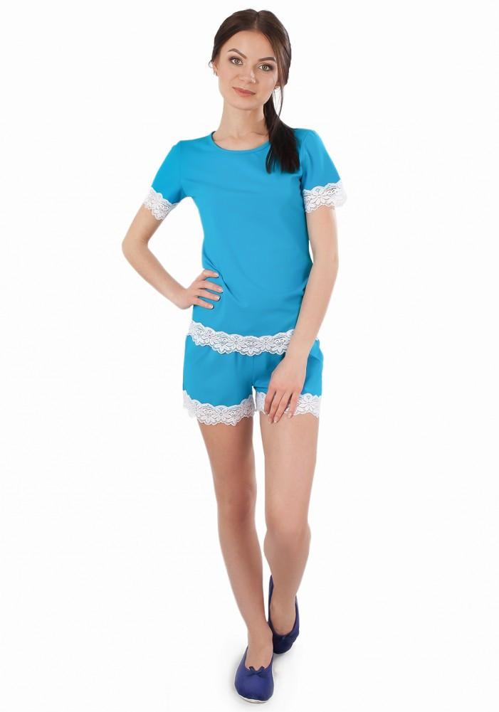Нежная пижама (шорты+футболка)
